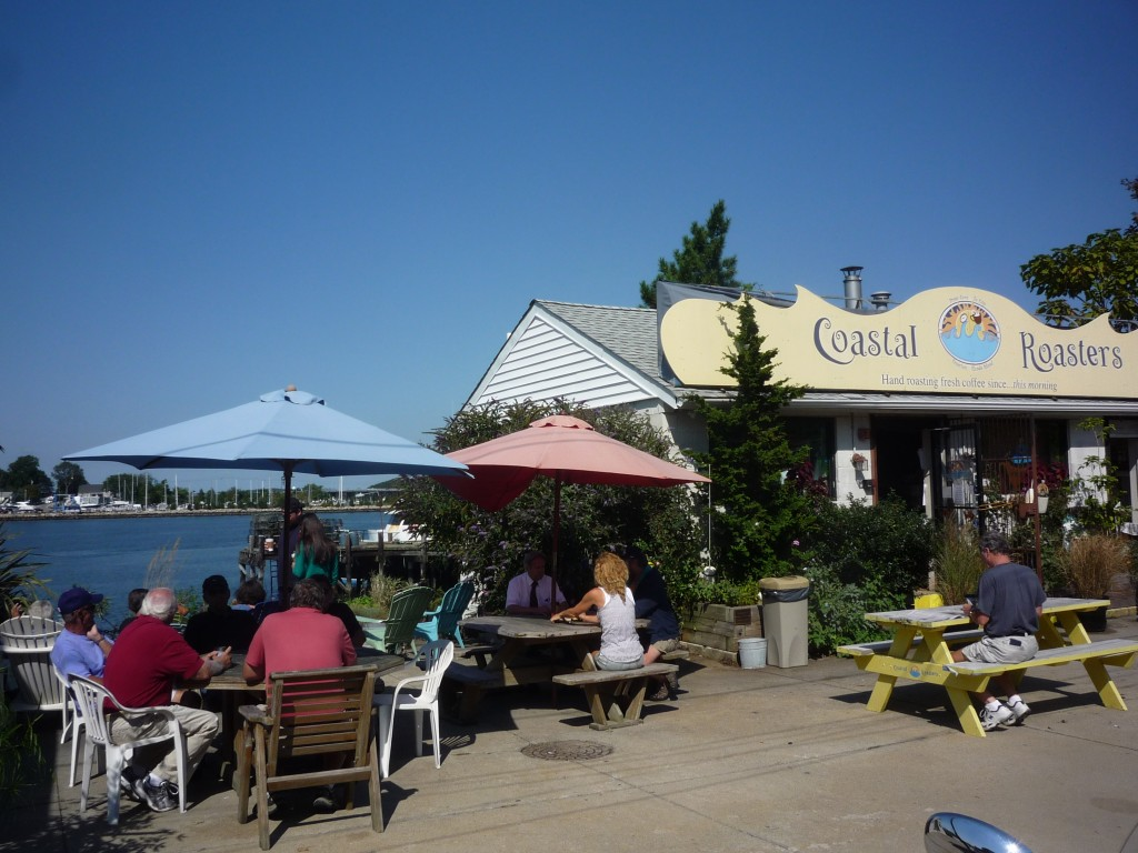 Photo of Costal Roasters Cafe in Tiverton, R.I.