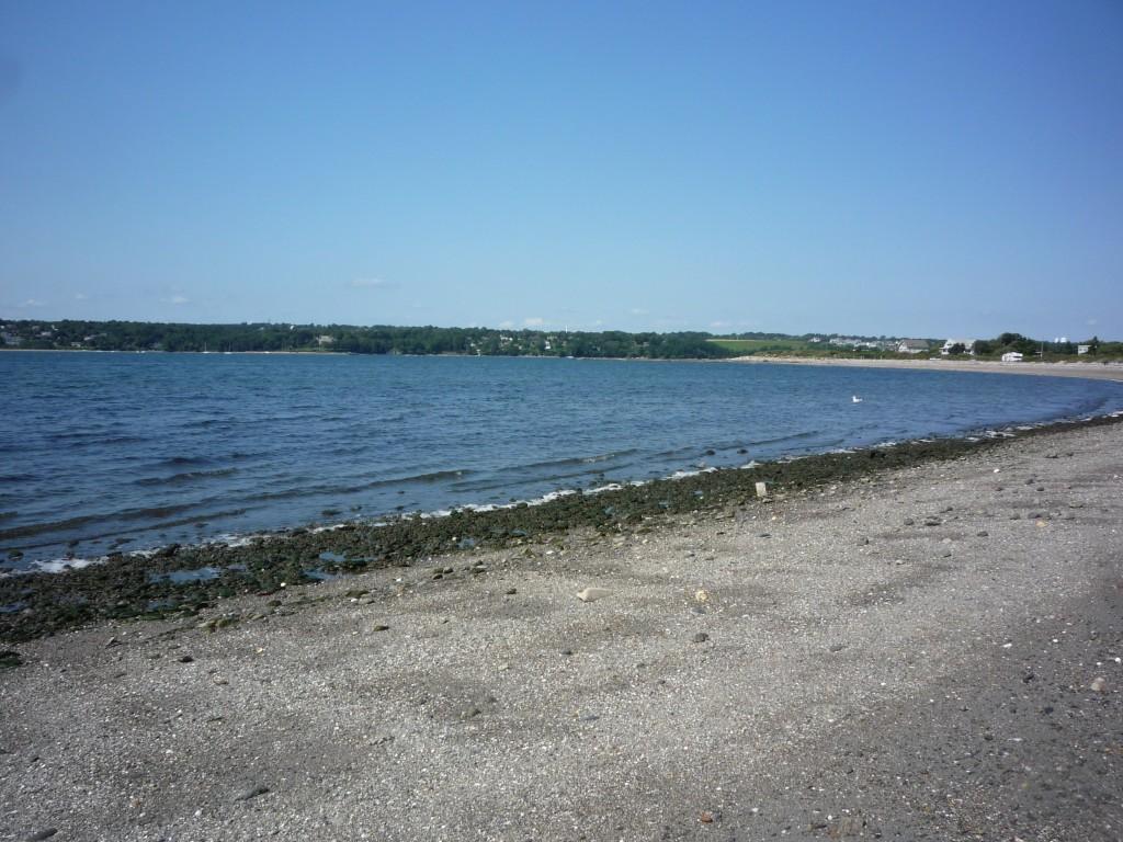 Photo of Fogland Beach off Neck Rd. in Tiverton, R.I.