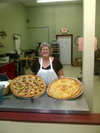 Judi Kerrigan, of Kerrigan's Convenience, makes amazing homemade pizzas