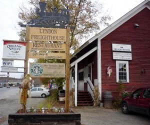 Picture of the Lyndon Freighthouse restaurant, Lyndonville VT