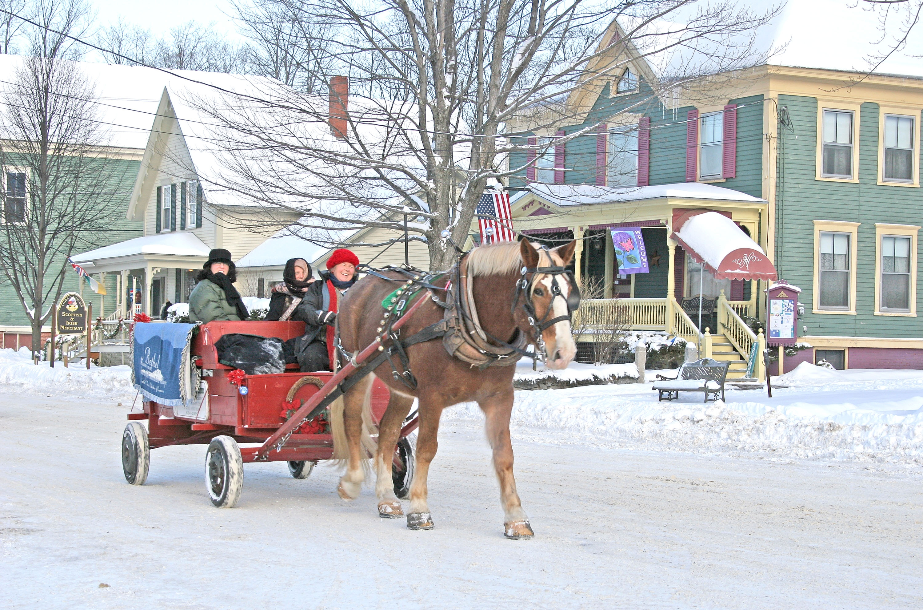 Get in the Holiday Spirit at Country Christmas in Bethel, Maine