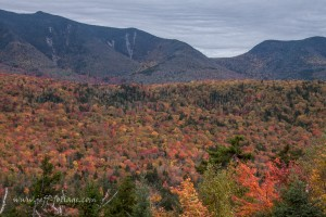 October peak foliage along the Kancamgaus Highway in the White Mountains of New Hampshire (photo by Jeff Folger)
