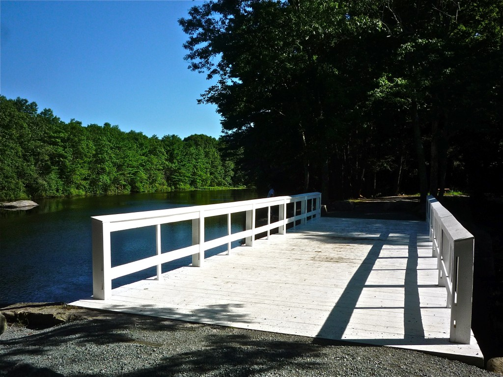 Photo of White's Bridge at Walpole Town Forest, Walpole MA