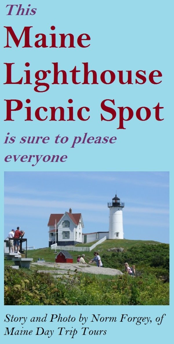 Looking for a great spot to enjoy a Maine picnic? This famous lighthouse offers an ideal location during the summer.