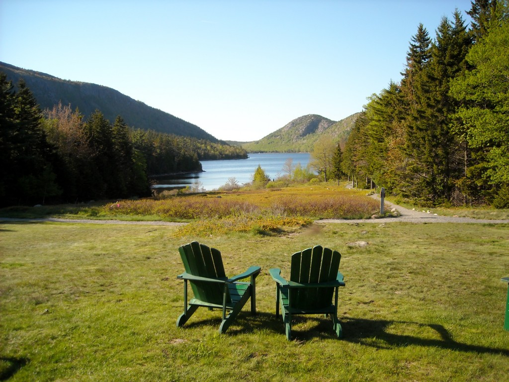 Photo of Jordan Pond, Acadia National park, Maine