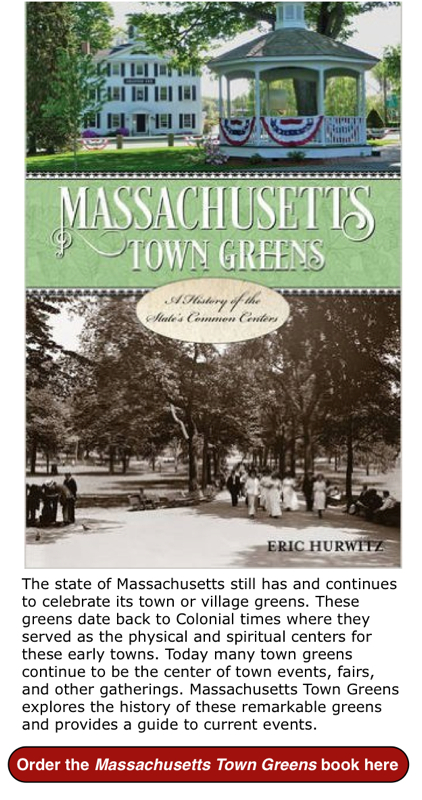 Massachusetts Town Greens book
