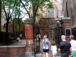 A walk to the Old North Church in the North End of Boston (photo by Eric)