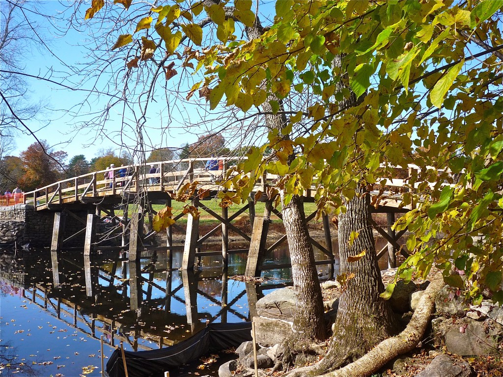 Picture of Old North Bridge, COncord MA
