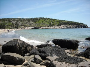 Picture of Sand Beach, Acadia National Park, Maine