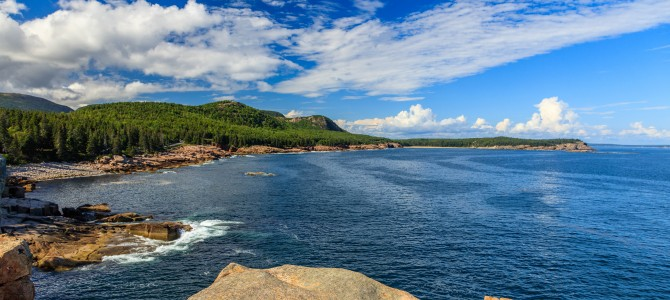 Spectacular Scenery at Maine's Acadia National Park Loop Road