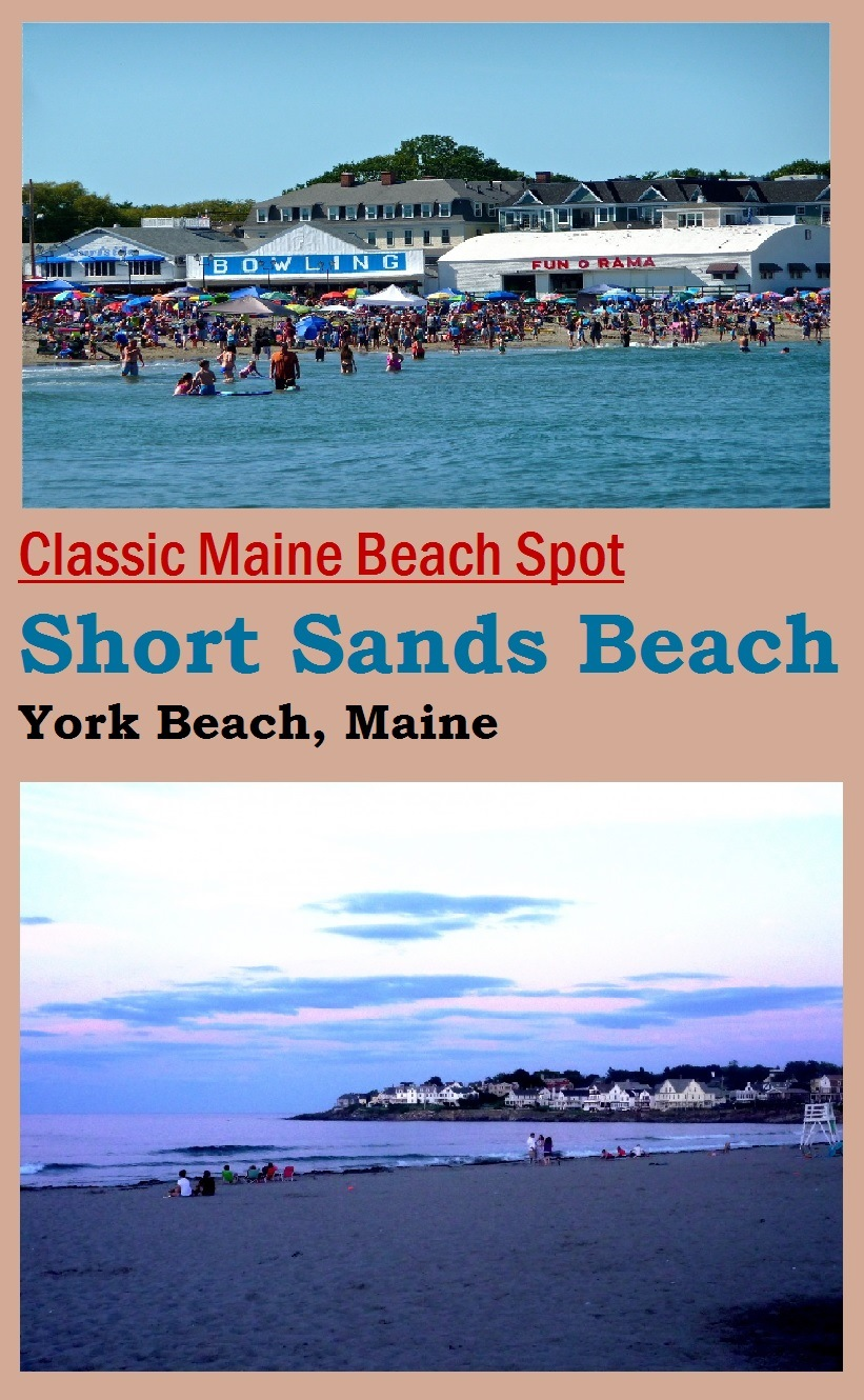 Short Sands Beach in York Beach, Maine is one of New England's best family-friendly beaches.