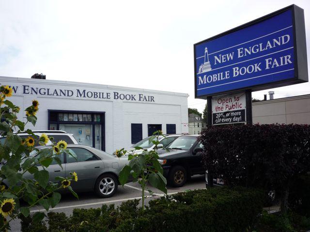 New England Mobile Book Fair, NEwton MA