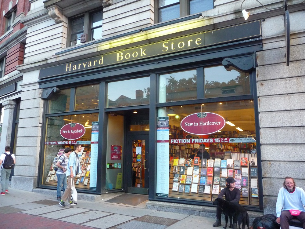 Harvard Book Store, Cambridge MA