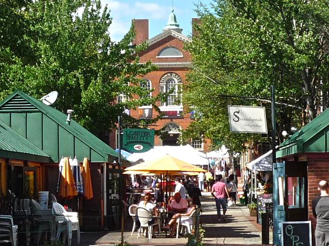 Photo of downtown Salem MA