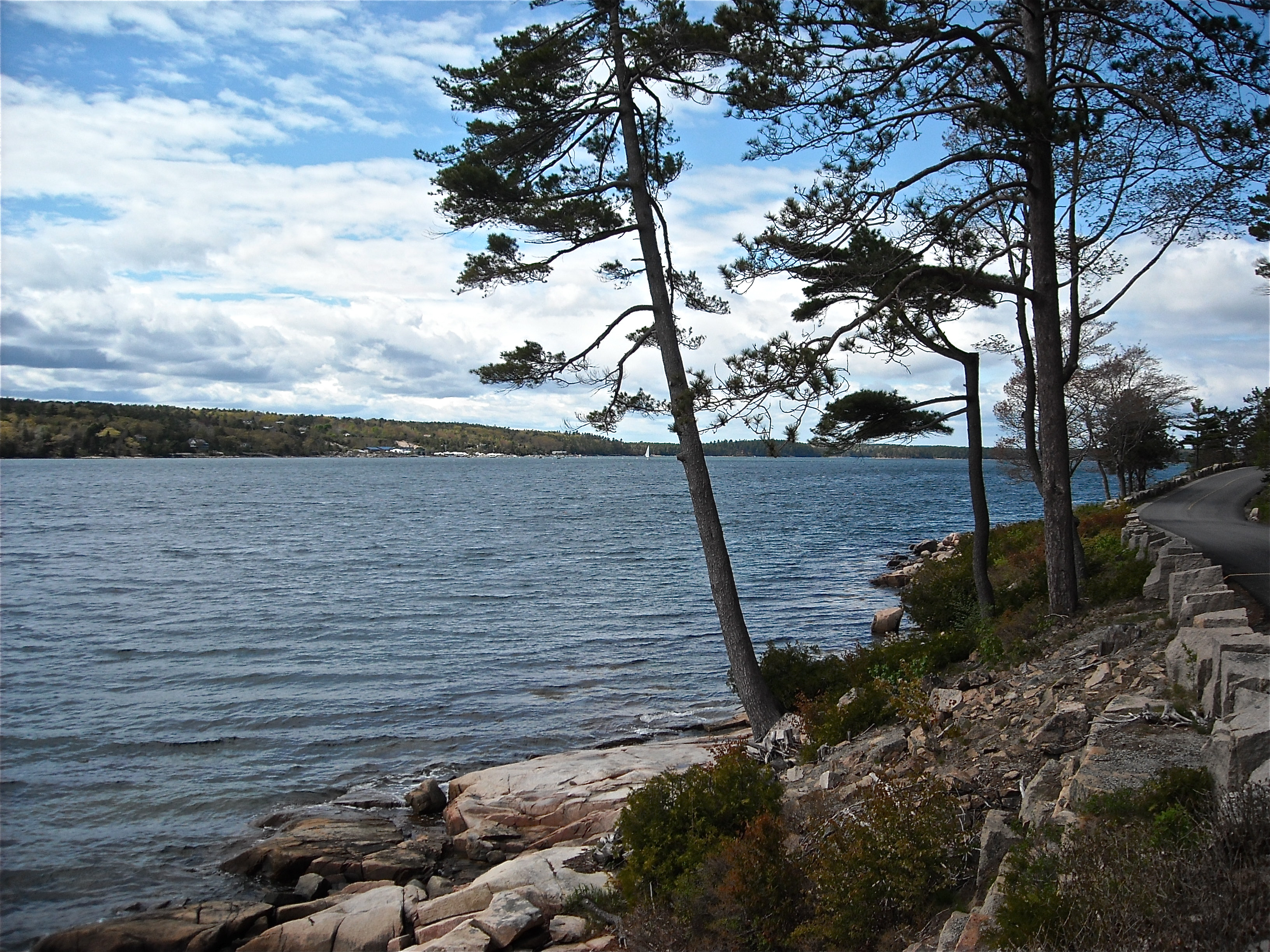 Scenic Views: the Fjord at Sargeant Drive, Mt. Desert Island, Maine