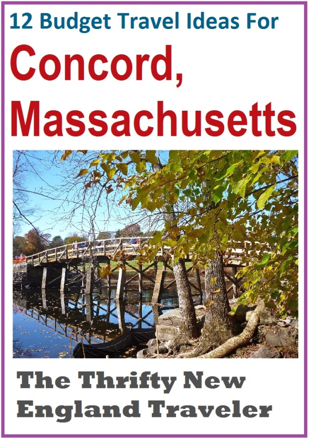 Check out these budget travel ideas for Concord, Massachusetts.