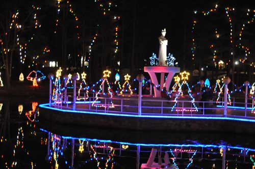 La Salette Christmas Festival of Lights, Attleboro, Mass.