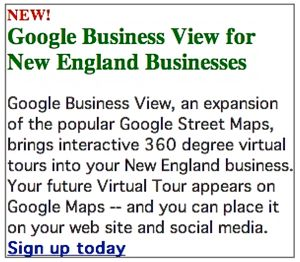 Google Virtual Business Tour