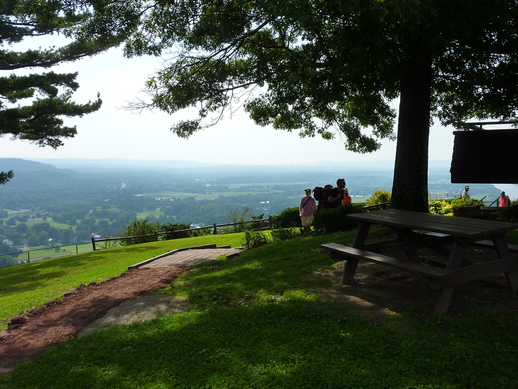 Wonderful place for a picnic at Mt. Sugarloaf Mountain in South Deerfield, Massachusetts.