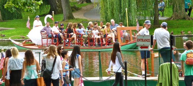 Swan Boats in Boston Are Just Ducky