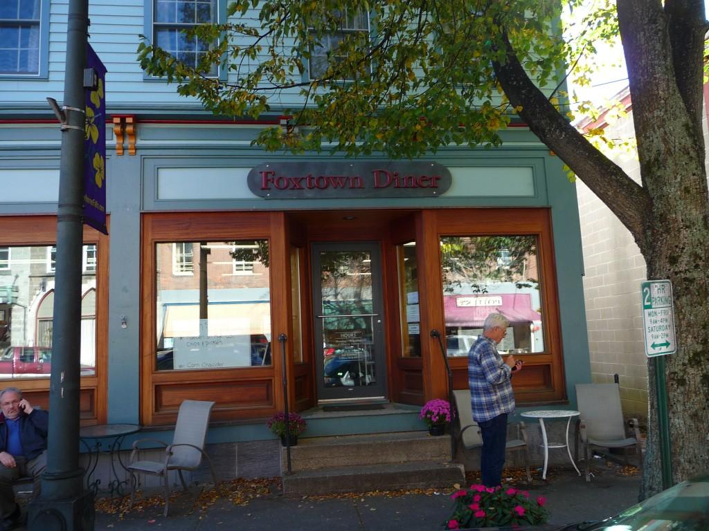Foxtown Diner, Shleburne Falls MA