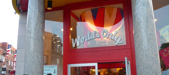 The World's Only Curious George Store is Located in Cambridge, Mass.