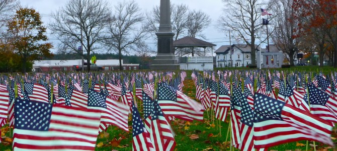 See the East Bridgewater, Mass., Field of Flags, Support a Veteran