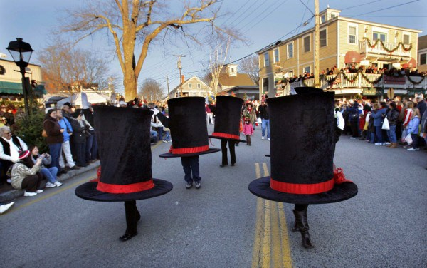 Hat Parade, Christmas Prelude, Kennebunkport ME.Photo credit: Robert Dennis