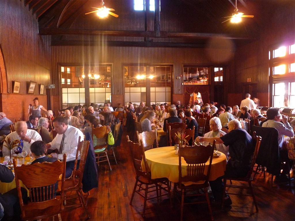Dining Hall at Steaming Tender restaurant, Palmer MA
