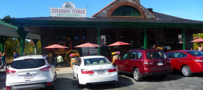 Steaming Tender in Palmer, Mass., Right on Track as a Great Railroad Station Restaurant