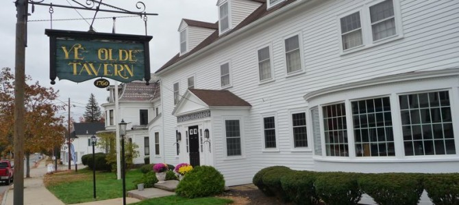 Going Back in Time at the Ye Olde Tavern in West Brookfield, Mass.