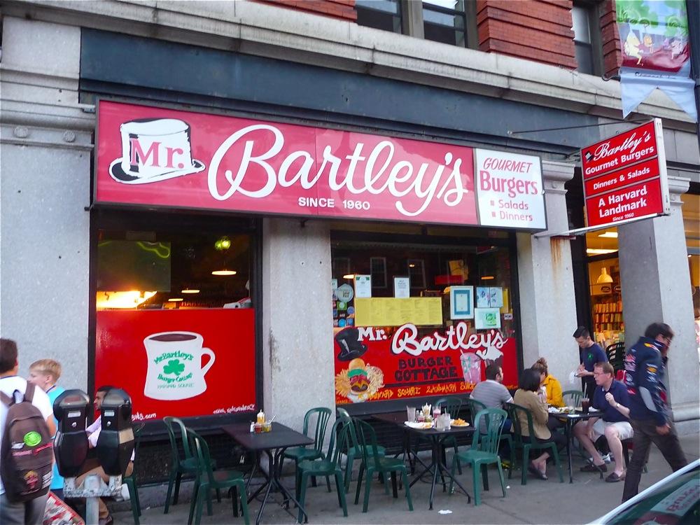 Mr. Bartley's Burgers, Haravrd Square, Cambridge, MA