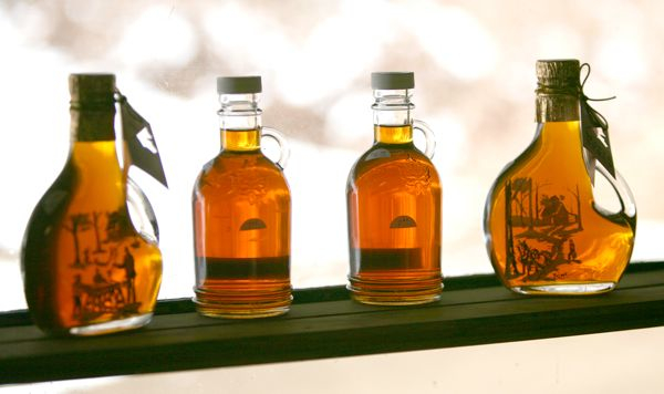 The products of maple sugaring in VT. Photo credit: Karen Pike