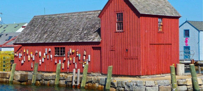 The Legend of Motif No. 1 Red Fish Shack in Rockport, Mass.
