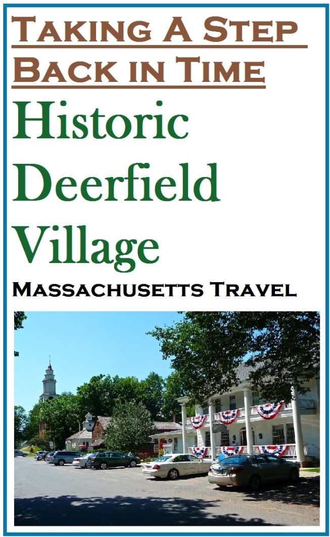 What it's like to be in Historic Deerfield Village, Massachusetts.