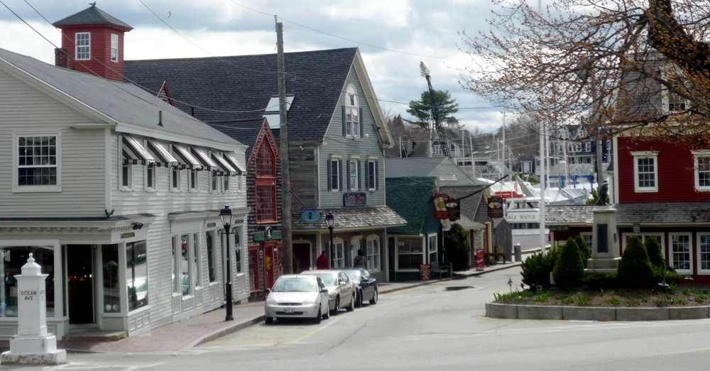 Dock Square in Kennebunkport ME