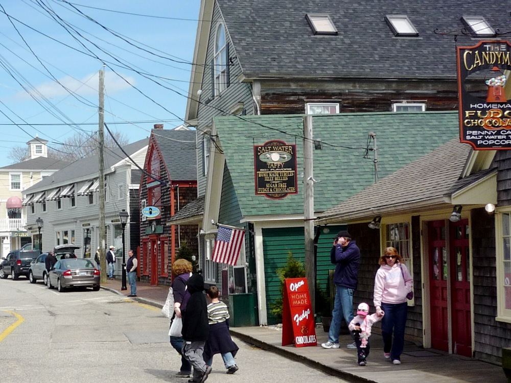 Dock Square shopping, Kennebunkport Maine