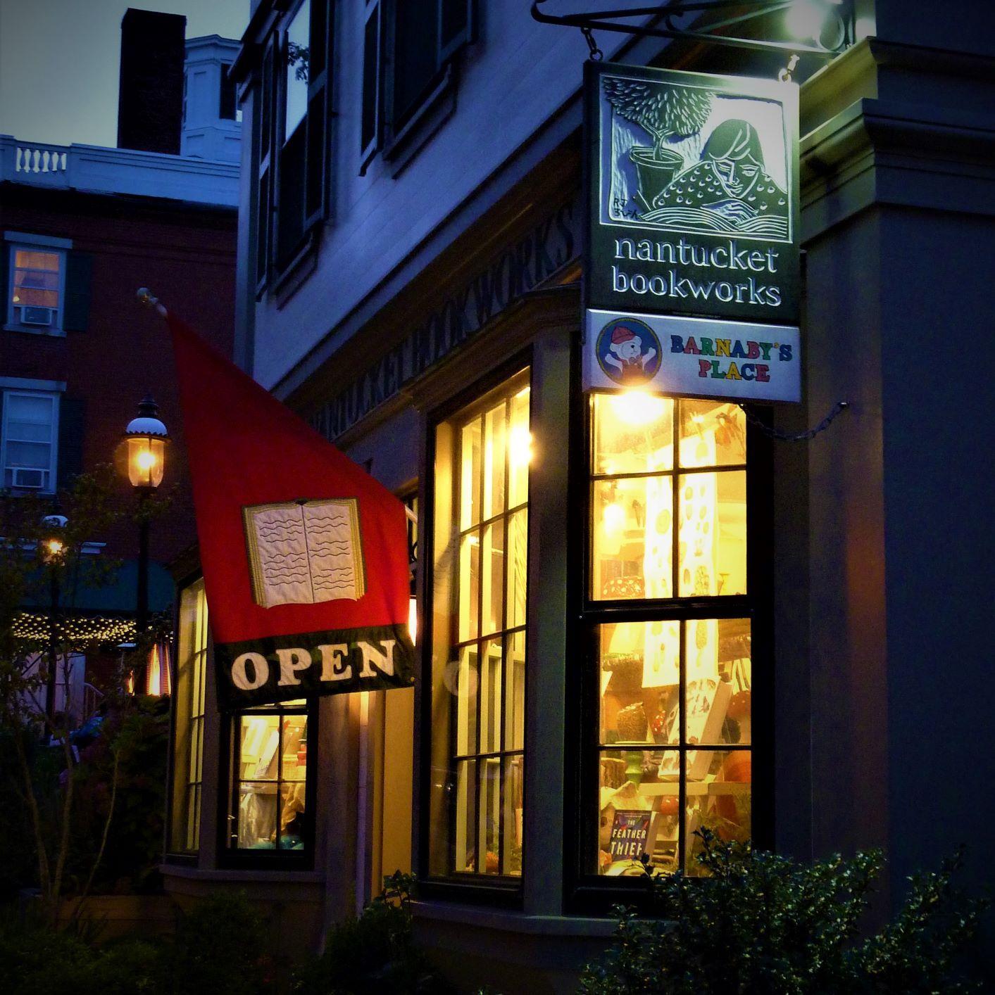 Nantucket Bookworks in Nantucket, MA.