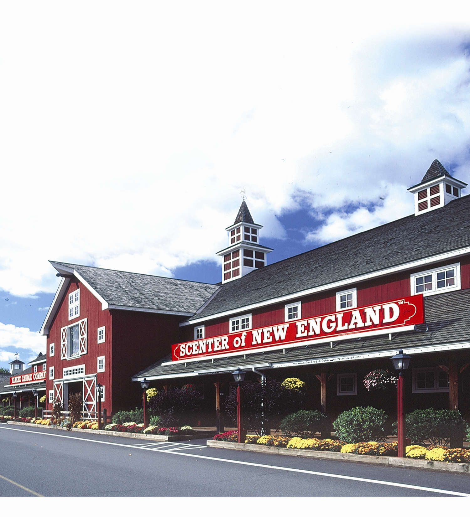 "Yankee Candle Village, the ""Scenter of the Universe,"" in South Deerfield MA. Photo: Visit Massachusetts Flickr page."