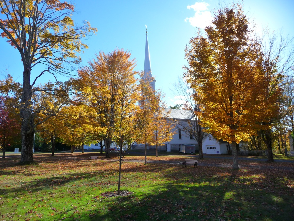 Royalston, Massachusetts., town common