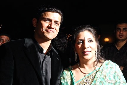 Vatsal Shah and Shefali Agarwal, owners of Indie-Go in Walpole, Mass.