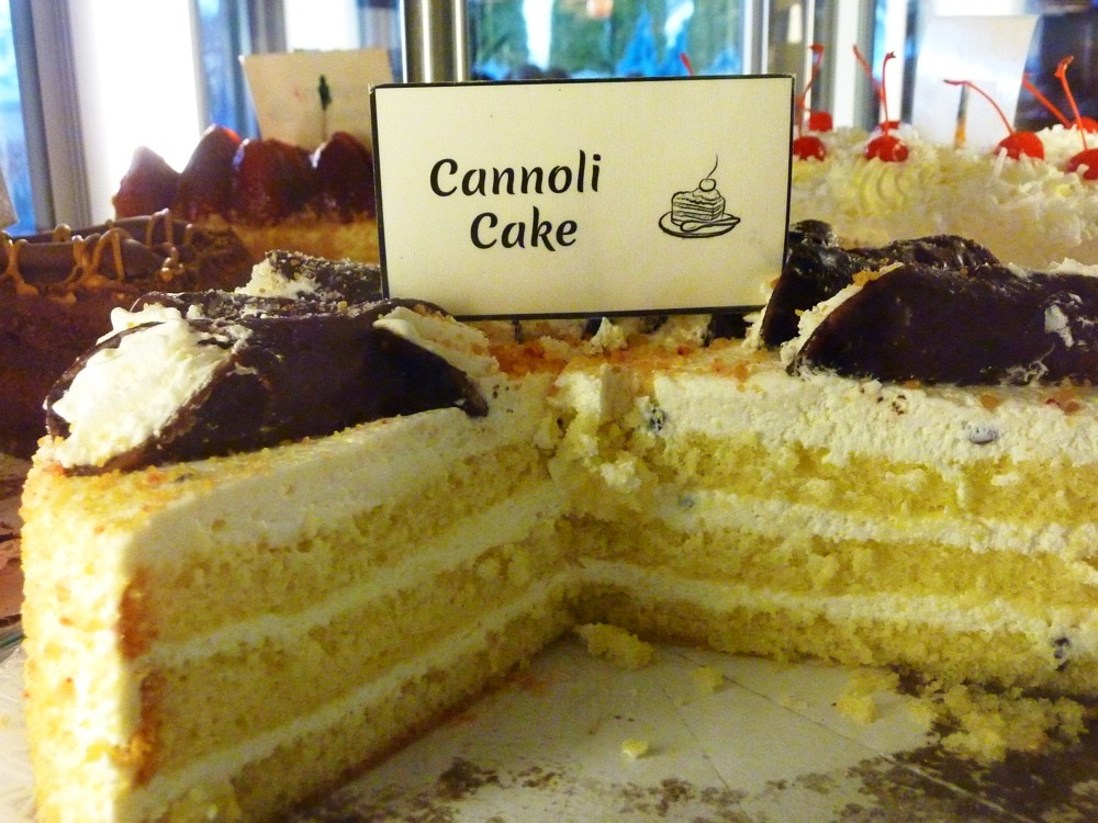 Cannoli Cake from the Vernon Diner in Vernon CT