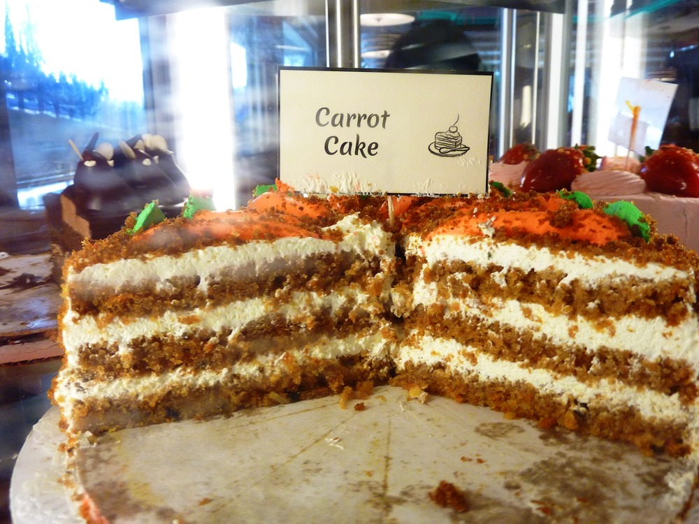 Carrot Cake from the Vernon Diner in Vernon CT