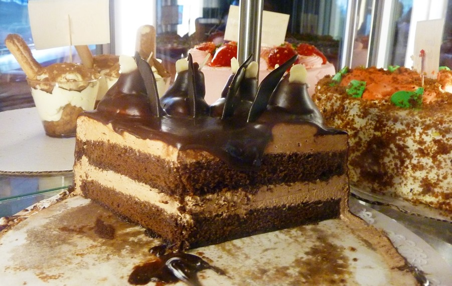 Chocolate specialty cake from the Vernon Diner in Vernon CT