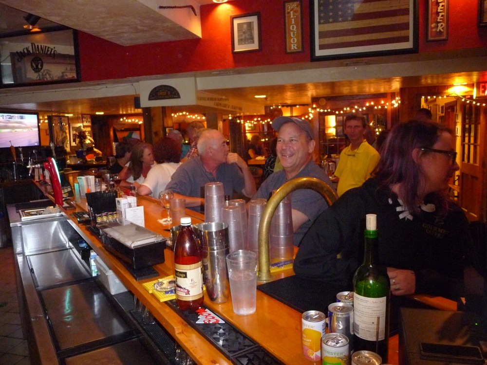 A lively scene at Finnegan's Wake in Walpole, Mass.