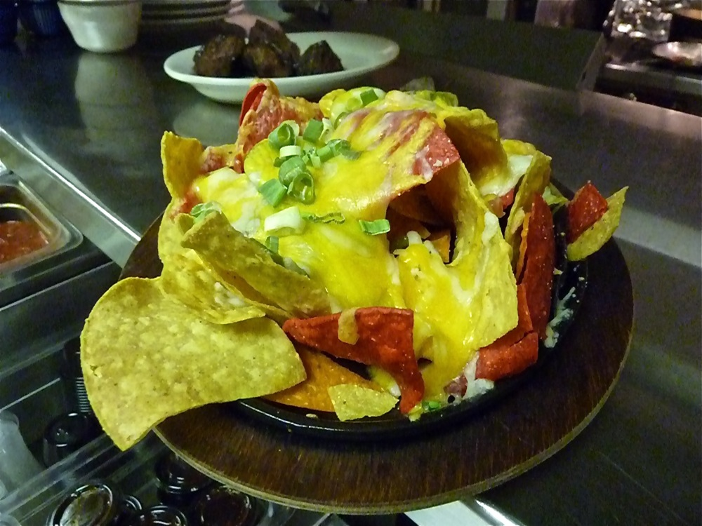 Nachos from Clyde's in Walpole MA.
