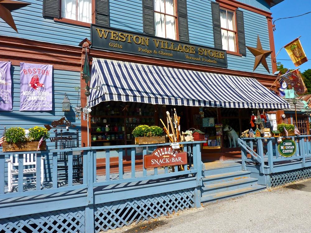 Weston Village Store, Weston Vermont
