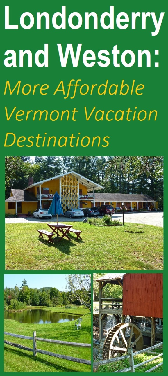 This section of Vermont usually offers a less expensive vacation experience.