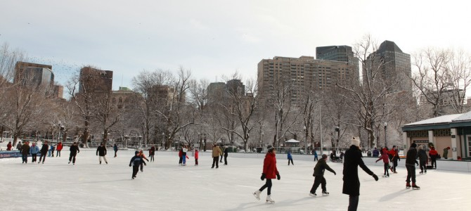 Family Fun: Go Ice Skating at the Boston Common Frog Pond