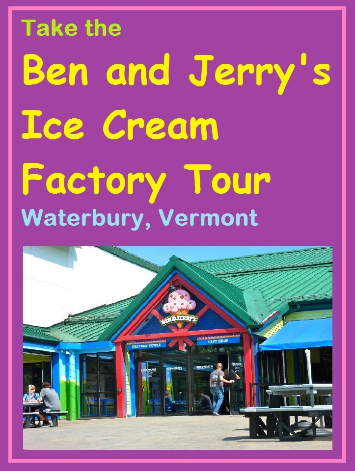 Ben and Jerry's Ice Cream Factory Tour in Waterbury, VT, is one of the great family attractions in New England.